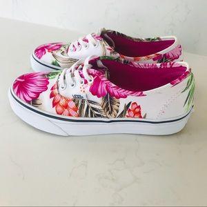 Hawaiian VANS Tropical + Floral Printed